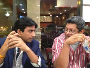 With Kumar Vishwas