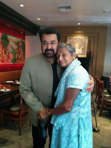 Amma and Mohanlal