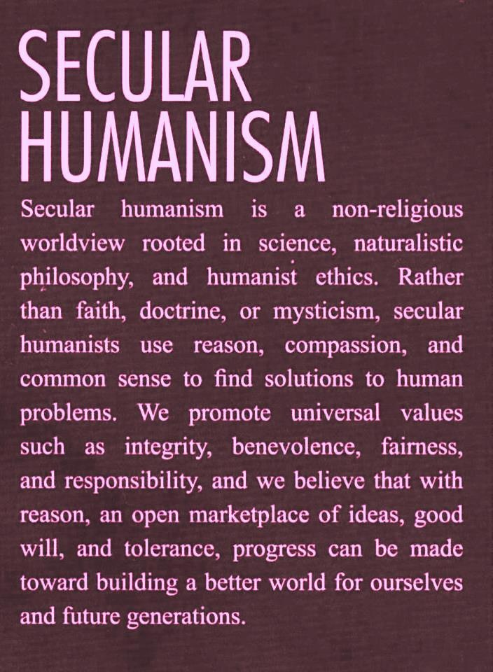 For Those Who Call Me A Commie I Am A Humanist Rationalist And