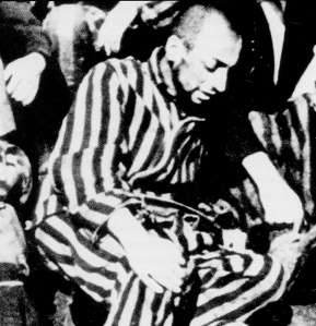 Last known photo of Desnos in the Theresienstadt concentration camp (1945)