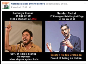 This is what a Modi (FEKU) Bhakt Shared